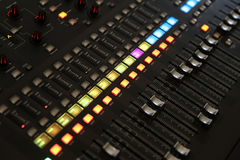Mixer, studio Stock Fotografie