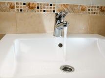 Mixer tap Stock Image
