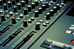 Mixer - The Musical Kind Stock Image