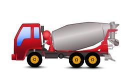 Mixer Truck Cartoon Royalty Free Stock Image