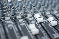 The mixer Royalty Free Stock Photo