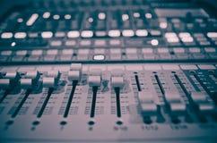 Mixer 1 van de muziek Stock Afbeelding