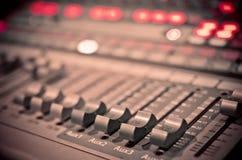 Mixer 1 van de muziek Stock Fotografie