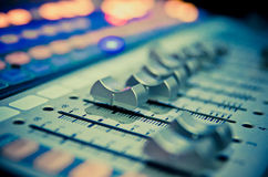 Mixer 1 van de muziek Stock Afbeeldingen