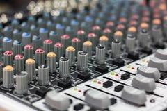 Mixeur son Image stock
