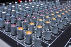 Mixeur son de détail Images stock