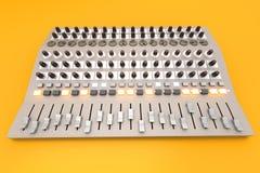 Mixing board Stock Image