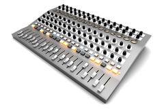 Mixing board Royalty Free Stock Photos