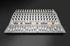 Free Mixing Board Royalty Free Stock Photography - 33060057