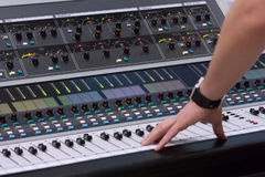 Mixing board Stock Images