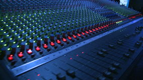 Mixing Board stock video footage