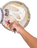Mixing Cake Ingredients VI Royalty Free Stock Images