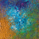 Mixing colours artwork Royalty Free Stock Image