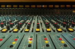 Mixing console Stock Photos