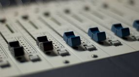 Mixing Console 5 royalty free stock image