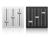 Mixing console icon Royalty Free Stock Image