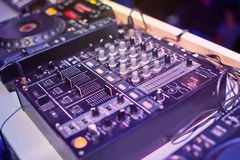Mixing Console Royalty Free Stock Images