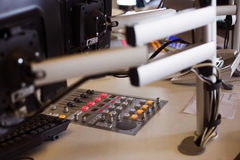 Mixing console Stock Photo