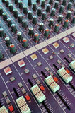 Mixing desk Royalty Free Stock Photo