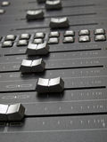 Mixing Desk Royalty Free Stock Images