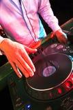 Mixing DJ Stock Images