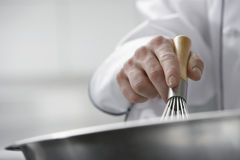 Mixing Ingredients In Bowl Royalty Free Stock Images
