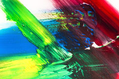 Mixing paints. background Royalty Free Stock Images