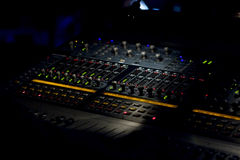 Free Mixing Sound Board Recording Stock Photos - 11534723