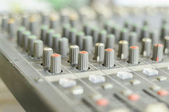 mixing sound Stock Photography