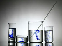 Free Mixing Substances In Labware Stock Image - 31953301