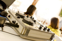 Mixing table Royalty Free Stock Images