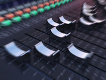 Mixing table Stock Images