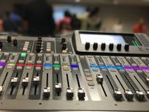 Mixtape sound digital screen mode Royalty Free Stock Photography