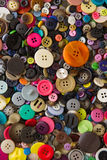 Mixed buttons Stock Photography