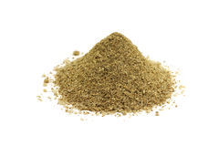 A mixture of crushed spices condiments and herbs Stock Images