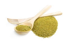 Mixture of dried ground spices for pesto Stock Images
