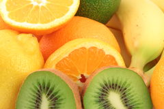 Mixture of fruit Royalty Free Stock Photos