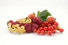 Mixture of fruits Stock Photography
