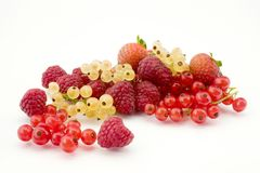 Mixture of fruits Stock Photo