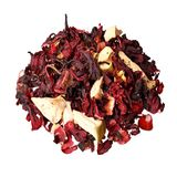 Mixture herbal floral fruit tea with petals, dry berries and fru Royalty Free Stock Image