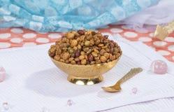 Mixture Namkeen. Indian Salty Food Mixture Namkeen stock photos