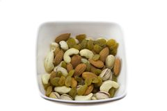 Mixture nuts Stock Photo