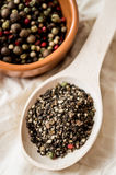 Mixture of pepper Stock Photo
