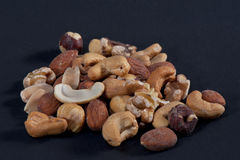 Mixture of Roasted Nuts Royalty Free Stock Photography