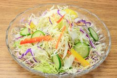 Mixture salad Royalty Free Stock Photography