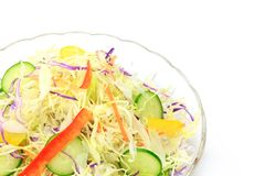 Mixture salad Royalty Free Stock Images
