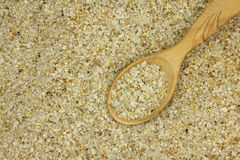 A mixture of salt spices in a wooden spoon Royalty Free Stock Photo