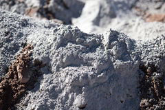 Mixture of sand and concrete as a background Royalty Free Stock Photo