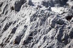 Mixture of sand and concrete as a background Stock Images