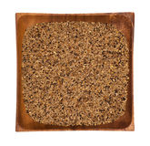 Mixture of seeds for canary royalty free stock photography